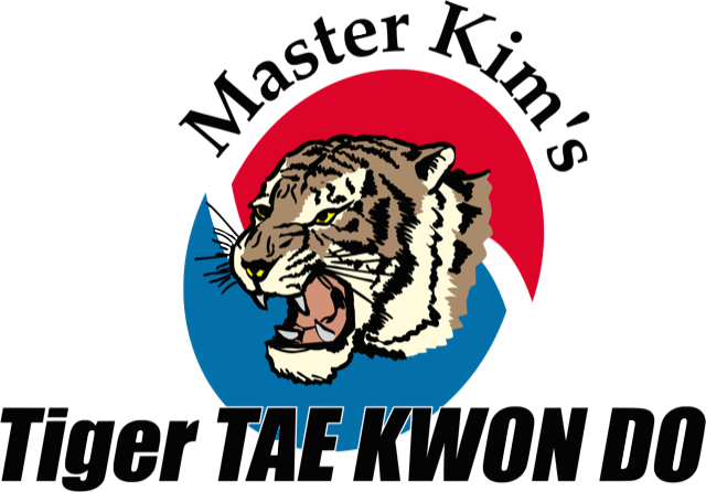 Master Kim's Tiger Tae Kwon Do Logo
